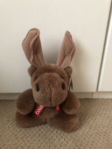Moose in the City Stuffed Toy, Excellent Condition