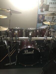 Pearl anniversary series mahogany drums