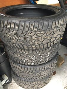 Snow Tires - General Altimax Artic set of 4 225/45/17""