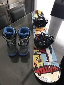 Planche snowboard pour femme
