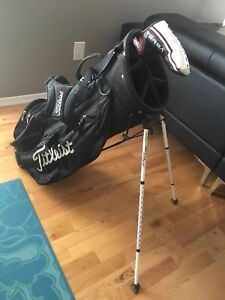 Golf bag and Putter