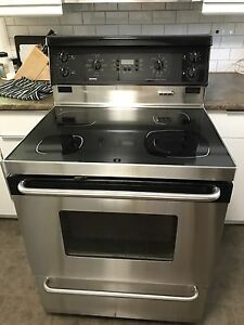 Kenmore stainless steel electric stove