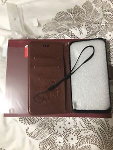Iphone 7/8 Wallet Case come with Screen Protector!