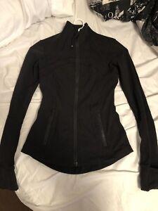 Black lulu lemon define jacket