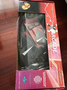 Xgaming X-Arcade Two Player Arcade Dual Tank Joystick NEW!