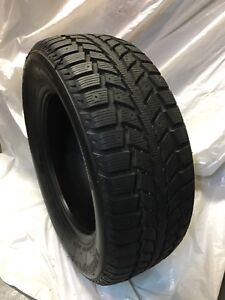 One Uniroyal Tiger Paw Winter Tire 225/60/R 16