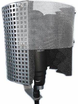 Microphone Windscreen Shield Isolation Reflection Pop Filter Screen Vocal Booth for sale  Shipping to United Kingdom
