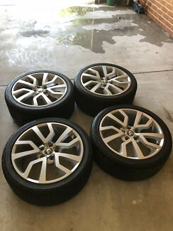 Swap VE COMMODORE WHEELS FOR 7x4 trailer