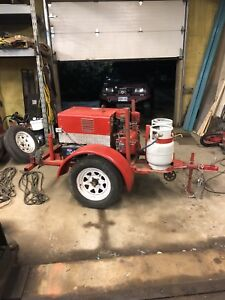 Propane Lincoln Welder with Onan engine