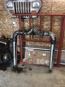 """Dual stacks and 6"""" full exhaust for sale!"""