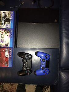 Ps4 Sony console + 7 games + accessory's  read description below Drummoyne Canada Bay Area Preview