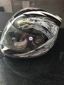 Youth Large motorcycle helmet