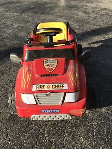Peg Perego Fire Chief Powered Ride On