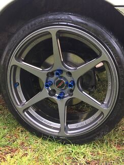 17 inch Forged pdw buddi clubs with near new tyres price drop $550