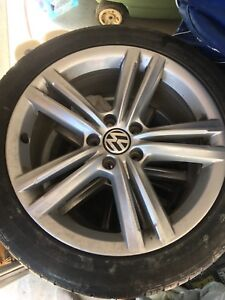 VW OEM Rims and all seasons