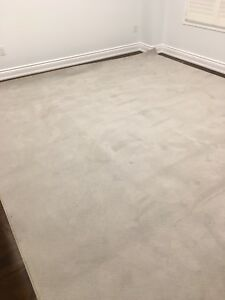 Area rug with under mat