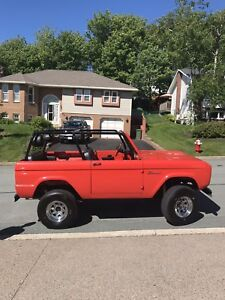 1968 ford bronco possible trades