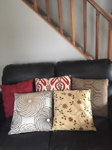 Couch pillows and pillow covers