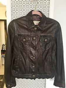 Women's Leather Jacket- mint condition