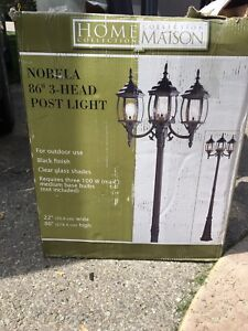 Outdoor light post