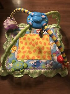Baby rain forest play mat