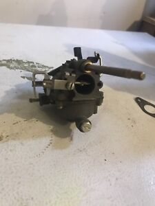 Outboard motor carb