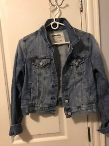 Garage Jean Jacket and sweater