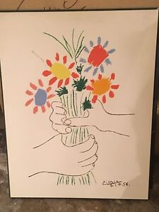 Picasso Flower Picture