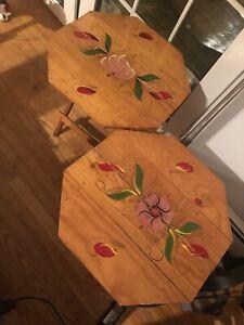 "18"" Octagon Folding Table"