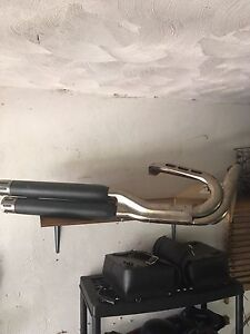 Screaming eagle exhaust pipes