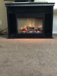Electric Solid Wood Fireplace For Sale!.