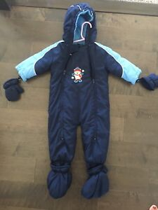 20 lbs one piece snow suit