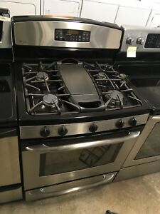 2 year old GE profile gas stove