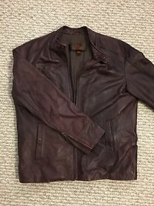 Danier Genuine Leather Jacket - Men's Medium