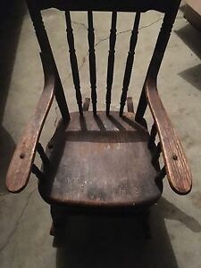 Old small rocking chair