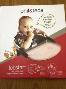 """Phil&Teds """"lobster"""" clip on high chair"""