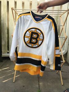Andy Moog Gerry Cheevers autographed Boston Bruins jersey