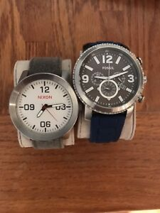 Nixon and fossil watches for sale