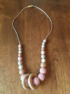 Teething/ nursing necklace