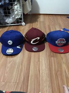 54e92a32848 3 NBA Hats with New Era and Mitchell   Ness