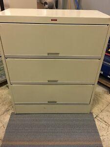 3 Shelf  Filing Cabinet