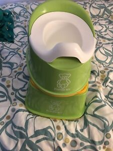 Baby Bjorn matching potty and stool