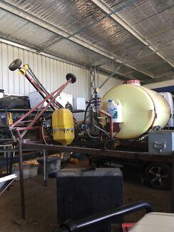 6m Hardi Boom Spray Unit