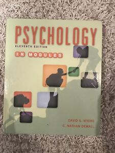 psychology in modules 11th edition
