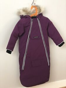 Brand NEW Canada Goose Baby Bunny Bunting 18-24mo