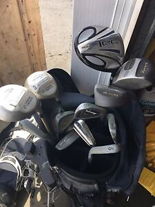 Golf clubs with cart 45 obo