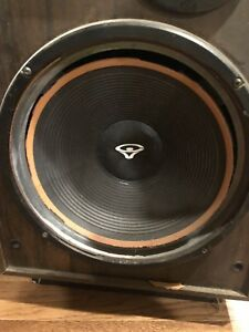 "Looking for Cerwin Vega speaker (woofers) 12"" and 6"" mid."