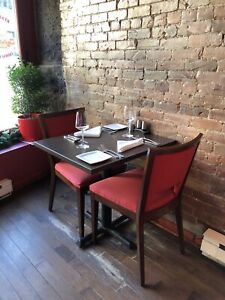 Restaurant 50 Chairs and 25 Tables (used)