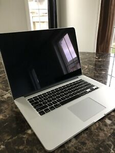 "EARLY 2013 MAC BOOK PRO - 15"" RETINA DISPLAY BARELY USED"