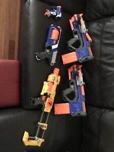 Nerf Guns Collection of 5 P/up Deer Park Vic